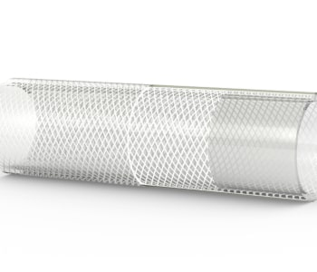 Reinforced Braided Silicone Tubing
