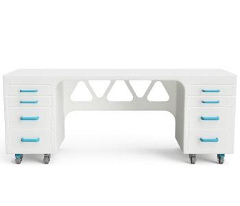 Kunststoff Schreibtisch für Reinräume