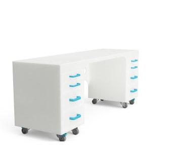 Kunststoff Schreibtisch für Reinräume _2
