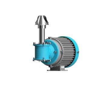 3D Modell der magnetischen Rührwerke