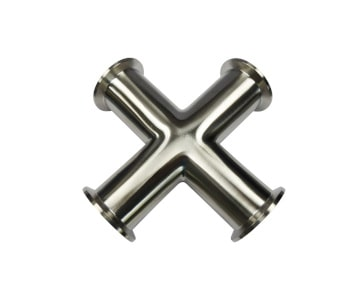 Tri-Clamp Kreuz-Stück