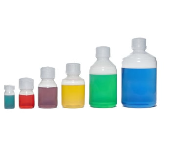 Volumen Fluorpolymer Flaschen