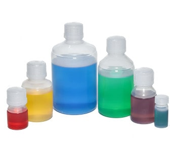 Overview Fluoropolymer Bottles