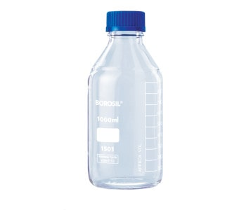 Clear Glass Bottles - closed _ GMPTEC