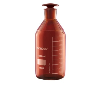 amber colored Glass Bottles _ GMPTEC