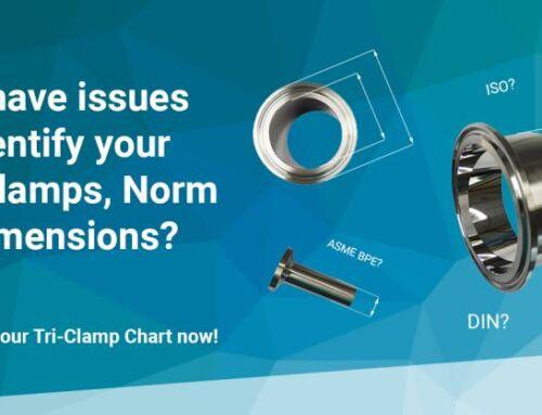 GMPTEC | Tri-Clamp Chart