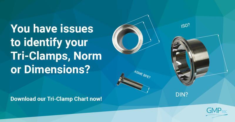 GMPTEC Tri-Clamp Chart
